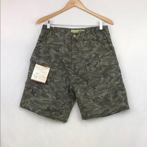 Cabela's Men's Camo Cargo Trail Shorts Sz 32 NWT